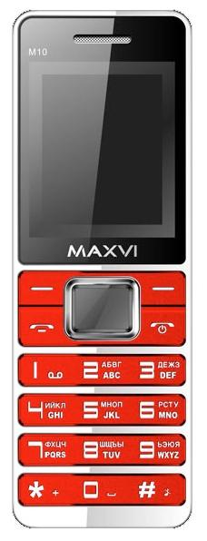 Телефон MAXVI M10 Red
