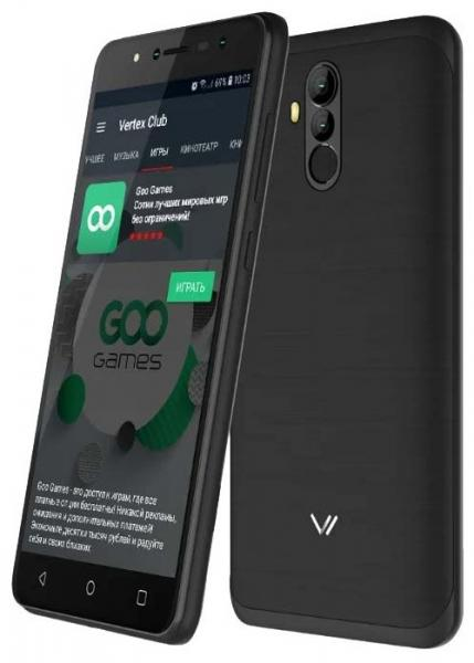 Vertex Impress New 4G Gold